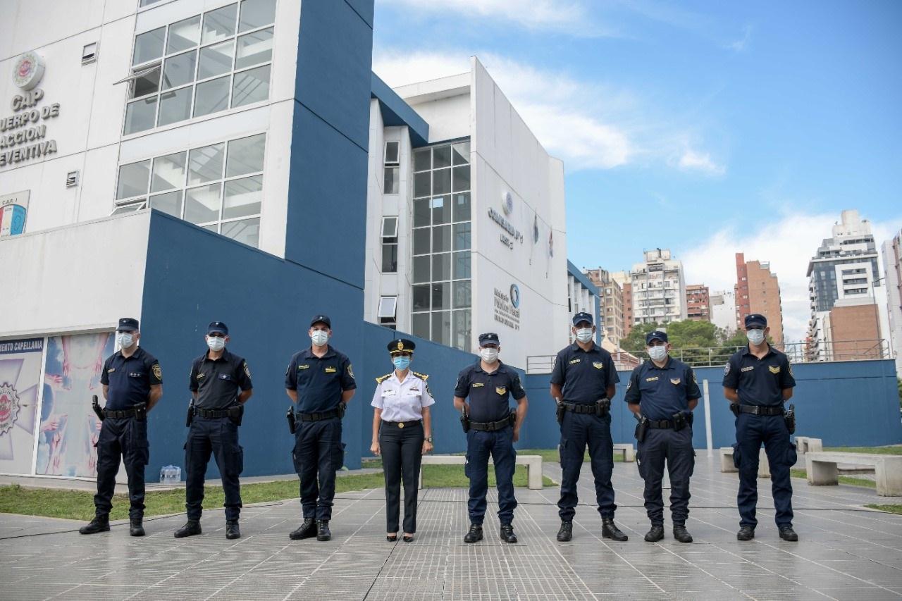 Reconocimiento a personal policial