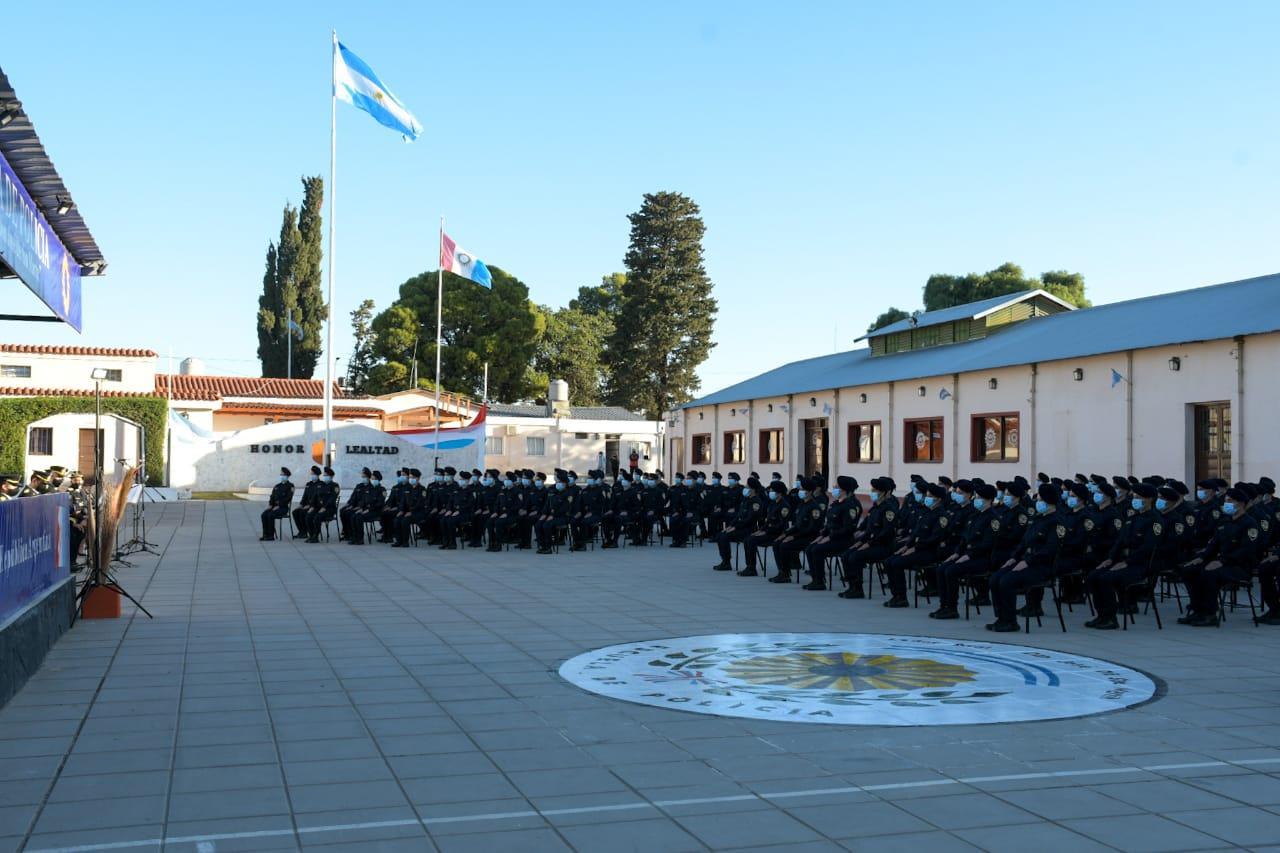 Acto de bendición de uniformes de cadetes de 2º año