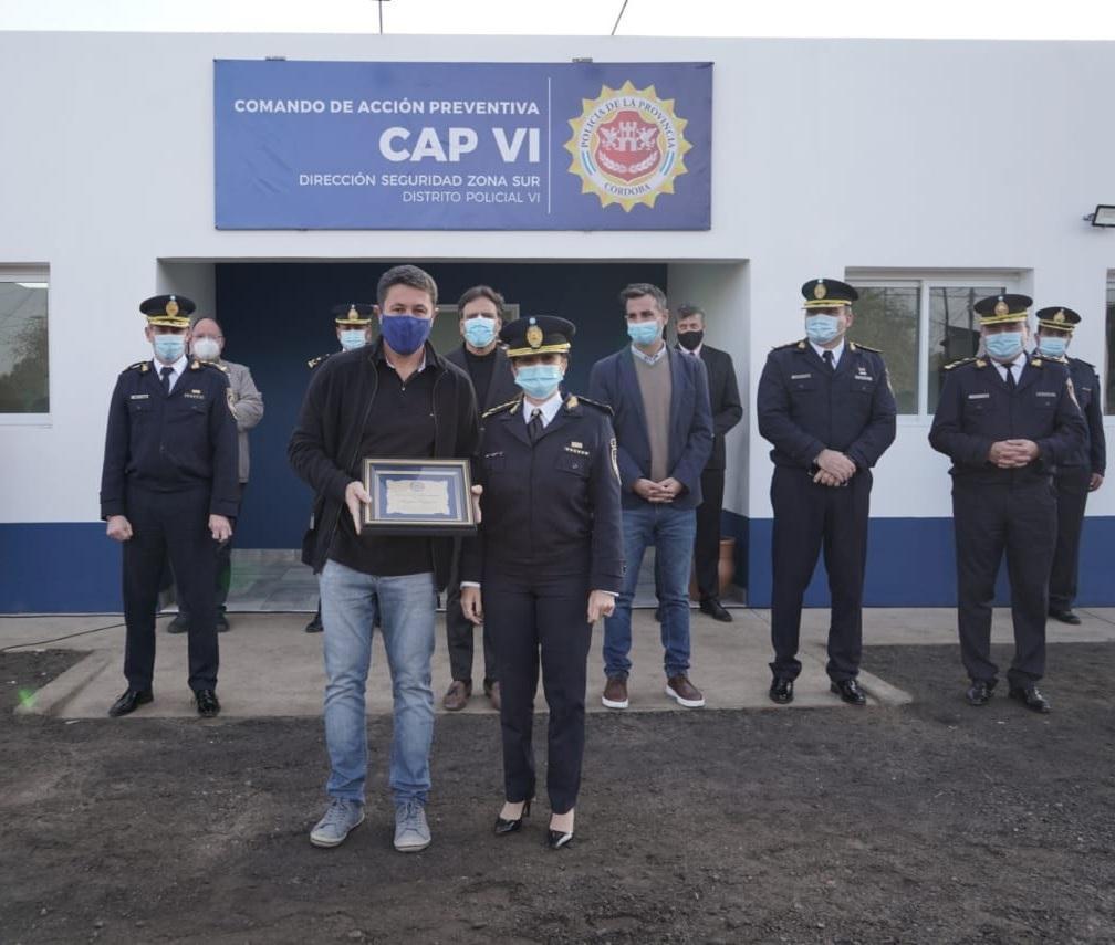 Inauguración de la base del CAP VI