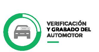 Verificación y Grabado del automotor